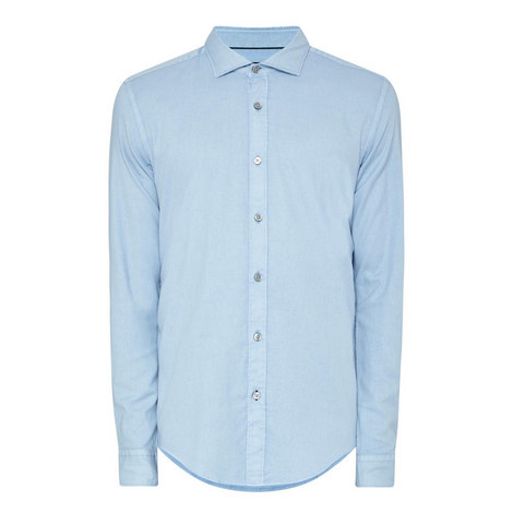 Ridley Washed Oxford Shirt, ${color}