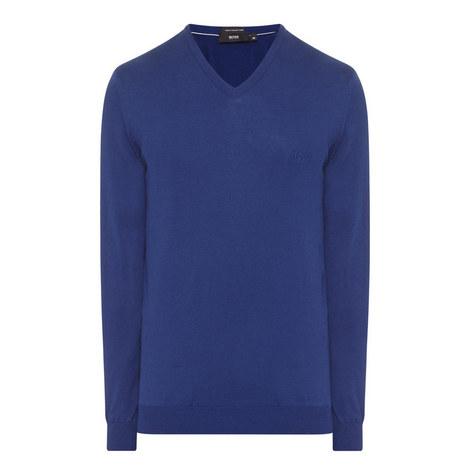 Pacello V-Neck Sweater, ${color}