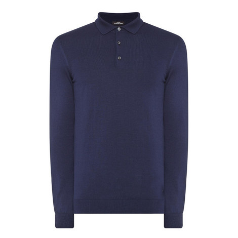 Palasco Wool Polo Shirt, ${color}