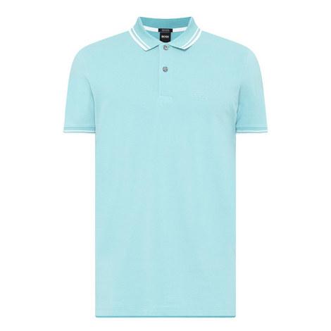 Parlay Stripe Trim Polo Shirt, ${color}