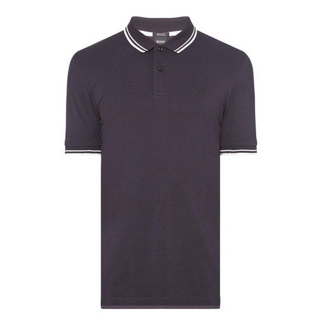 Parlay Stripe Trim Polo Shirt , ${color}