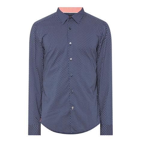 Lukas Micro-Dot Shirt, ${color}
