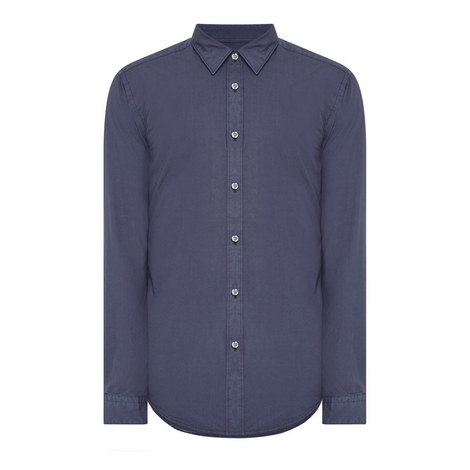 Ronni Cotton Poplin Shirt, ${color}