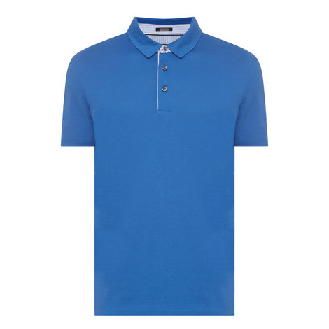 Press Trimmed Polo Shirt, ${color}