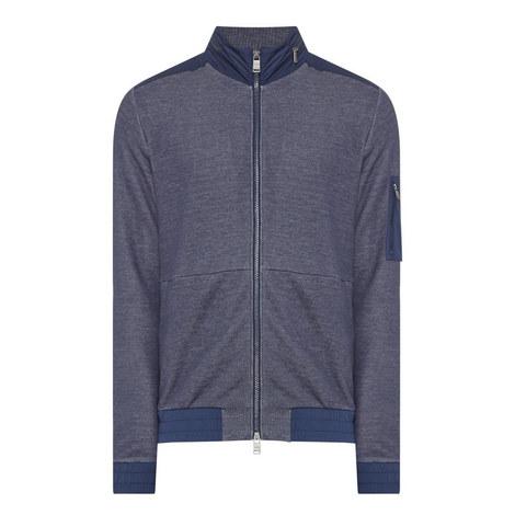Shepard Tech Zip-Through Sweater, ${color}