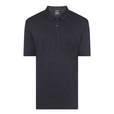 Paino Linen Polo Shirt, ${color}