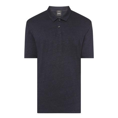 Paino Linen Polo Shirt, ${color}