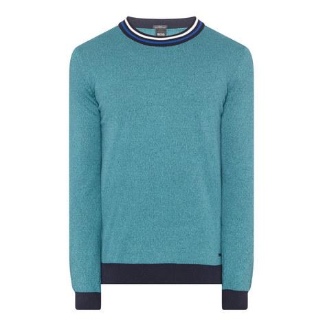 Talvino Stripe Neck Sweater, ${color}