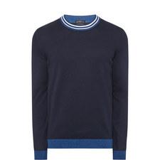 Talvino Striped Neck Sweater