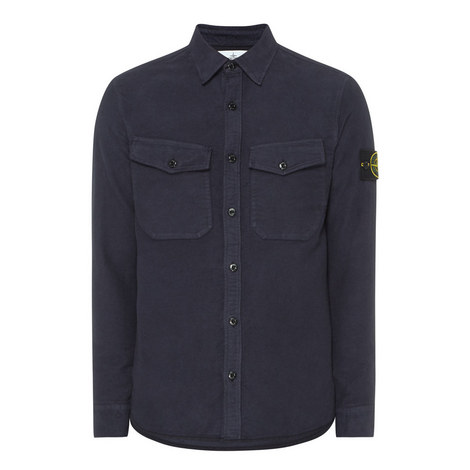 Brushed Overshirt, ${color}