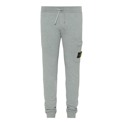 Logo Cuffed Sweatpants, ${color}