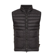 Zip-Through Quilted Gilet