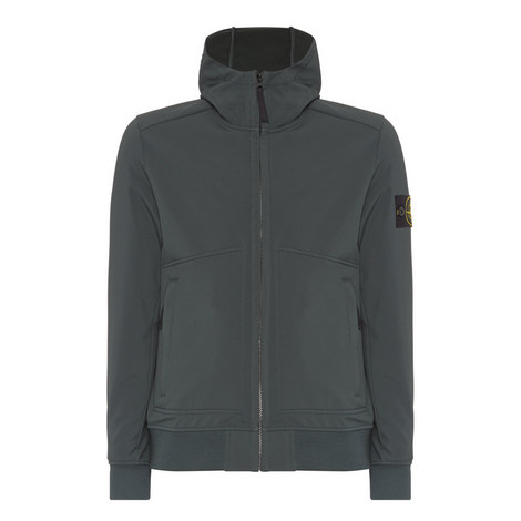 Soft Shell Hooded Jacket, ${color}