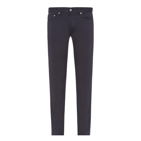 Buttoned Slim Fit Jeans, ${color}