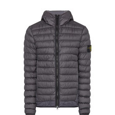 Micro-Down Hooded Jacket