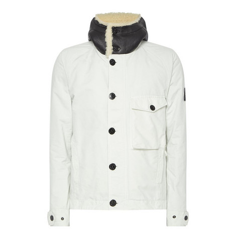 David-TC Shearling Collar Jacket, ${color}
