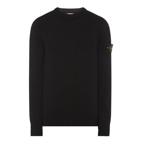 Lambswool Crew Neck Sweater, ${color}