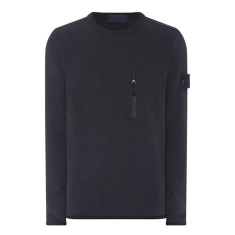 Zip Pocket Sweatshirt, ${color}