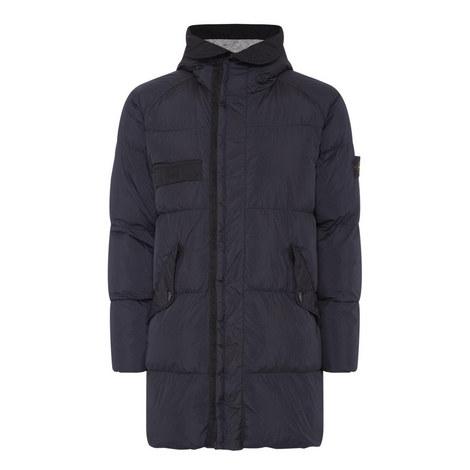 Crinkle Reps Puffa Coat, ${color}