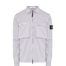Brushed Pocket Overshirt