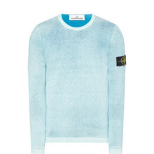 Handspray Crew Neck Sweater