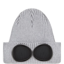 Goggle Knitted Beanie