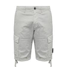 Cotton Goggle Cargo Shorts