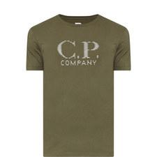 Reflected Logo Cotton T-Shirt