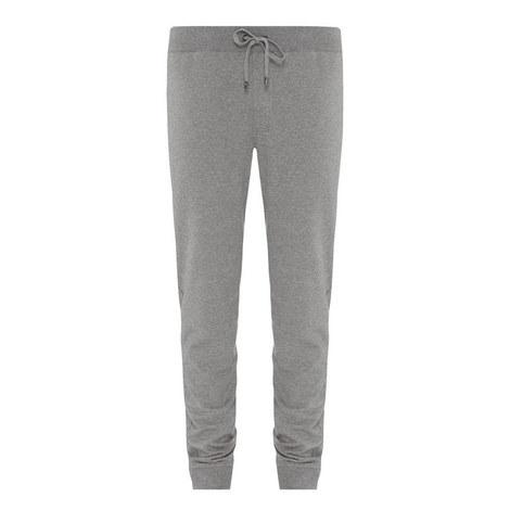 Cuffed Stretch Cotton Sweatpants, ${color}