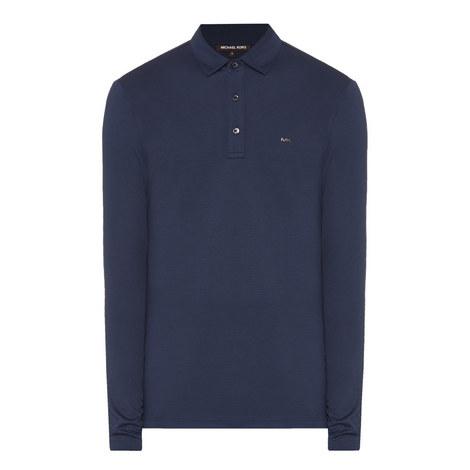 Long-Sleeved Polo Shirt, ${color}