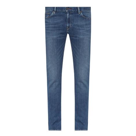Straight-Fit Denim Jeans, ${color}