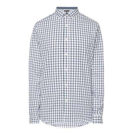 Check Slim Fit Shirt, ${color}