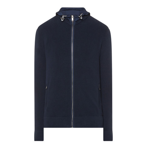 Zip-Through Knitted Hoodie, ${color}