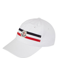 Logo Stripe Baseball Cap