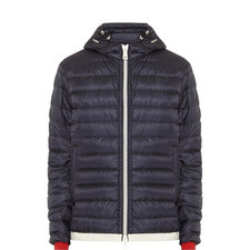 Evard Hooded Quilt Jacket