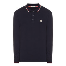 Stripe Tipped Polo Shirt