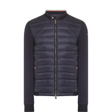 Quilted Jersey Zip-Through