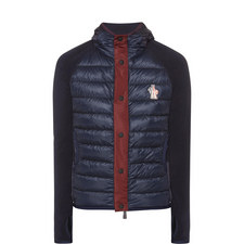 Hooded Quilted Fleece