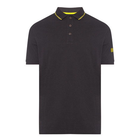 Tipped Polo Shirt, ${color}