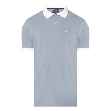 Linton Contrast Collar Polo Shirt, ${color}