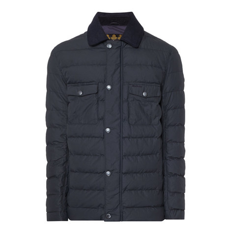 Benthos Quilted Waxed Jacket, ${color}