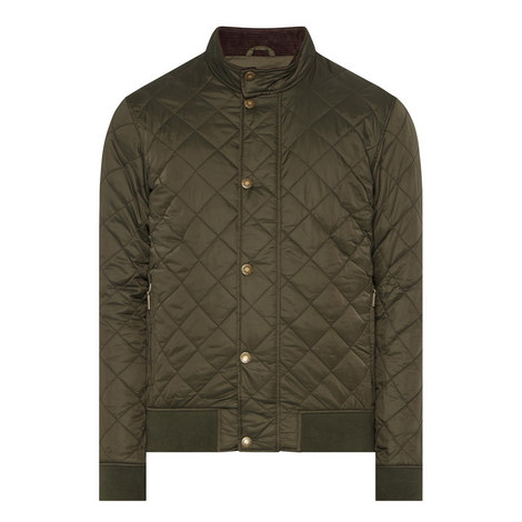 Moss Quilted Bomber Jacket, ${color}