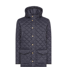 Crowl Quilted Hooded Coat