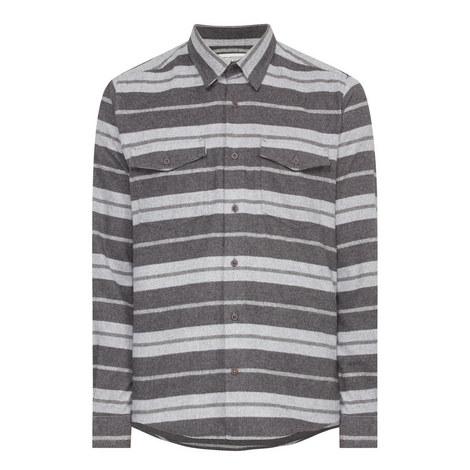 Torne Stripe Flannel Shirt, ${color}