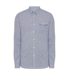 Textured Linen Shirt