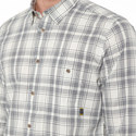 Grid Print Shirt, ${color}