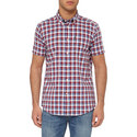 Barge Short Sleeve Check Shirt, ${color}