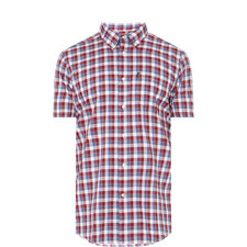 Barge Short Sleeve Check Shirt