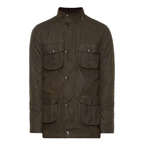 Corbridge Four Pocket Wax Jacket, ${color}
