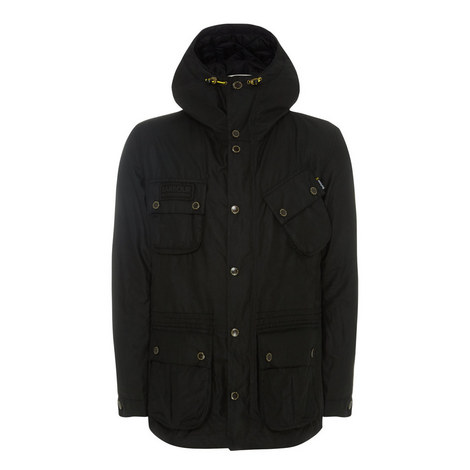 Fog Waxed Parka Jacket, ${color}